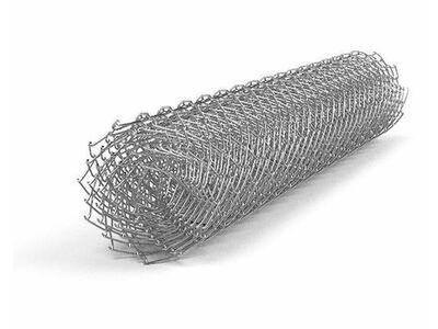 Сетка рабица оцинкованная 15х15х1,2 Н-1500