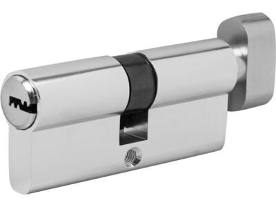 Цилиндр 70 мм ,(35х10х35) СL0132-48.10/003929 хром,с вертушкой