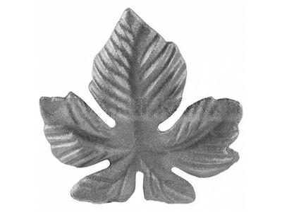 Лист Виноградный SK22.32 Размеры: 100х95 (4 мм)