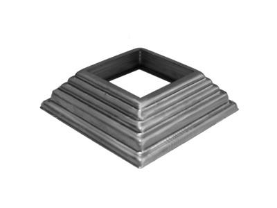 Основание балясины SK74.100.40 Высота: 30 отв:40, кв:100 (1мм)