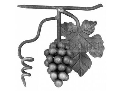 Виноград с листом SK 21.06 Размеры: 180х180