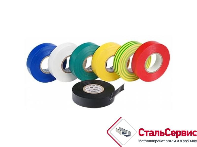 Изолента PVC 19 ммх0,13х15м цветная