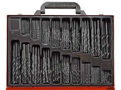 Набор сверл по металлу( 5 шт 1,5-2,5-3-4-5 мм) платик.бокс