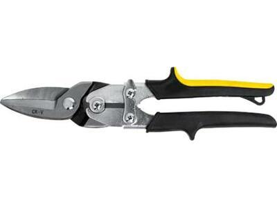 Ножницы по жести, усилен, прямые