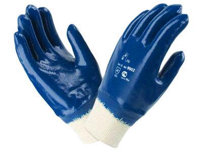 Перчатки нитриловые с манжетом