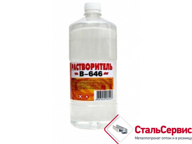 Растворитель В-646 0,8 кг/ 1,0 л