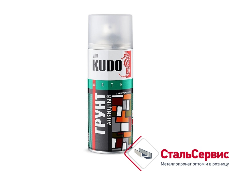 Аэрозоль KUDO №2001 серый грунт 520мл