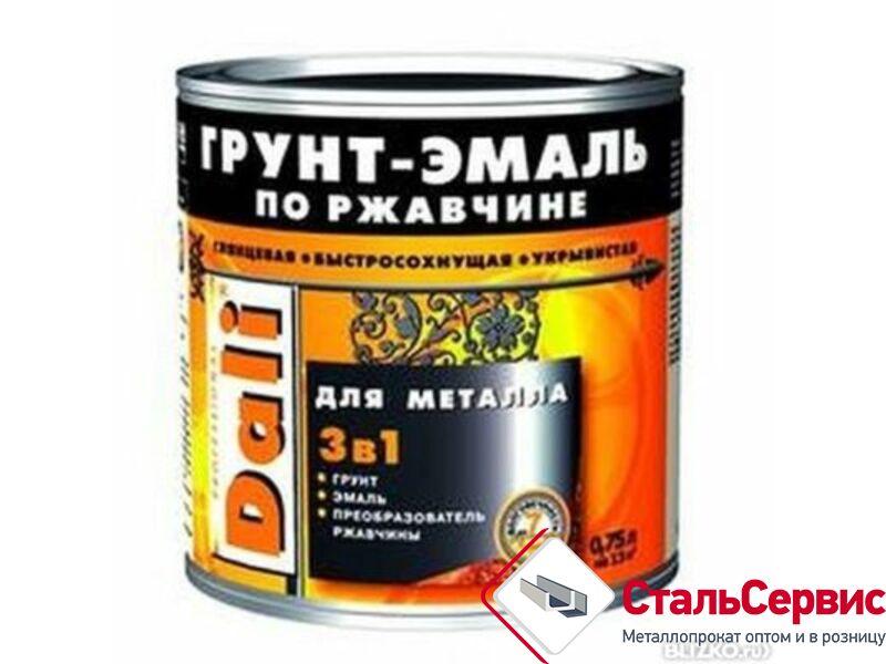 Эмаль по ржавчинеDALI сераяRAL7004,0,75л.