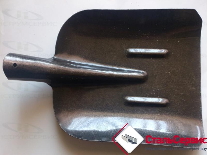 Лопата совковая (рельс.сталь) с надписью