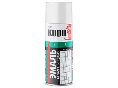 Аэрозоль KUDO №1001 белая глянцевая 520мл