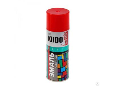 Аэрозоль KUDO №1003 красная 520мл