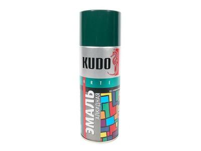 Аэрозоль KUDO №10085 глубоко-зеленая 520мл(ЗР)