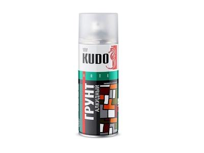 Аэрозоль KUDO №2002 красно-коричневый грунт 520мл