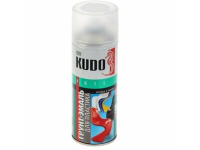 Аэрозоль KUDO для пластика белая RAL9003