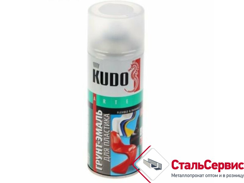 Аэрозоль KUDO для пластика черная RAL9005