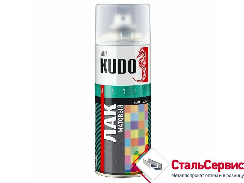 Аэрозоль KUDO лак яхтный №9003 520мл.