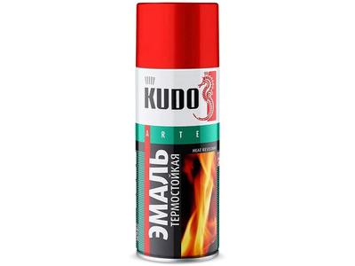 Аэрозоль KUDO термост золотая КU-5007 520мл.