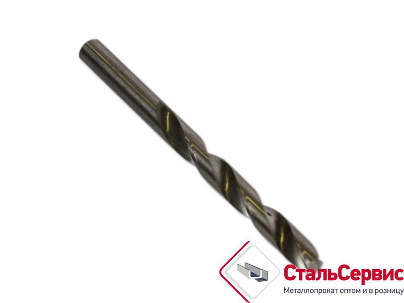 Сверло по металу d-10, полированный