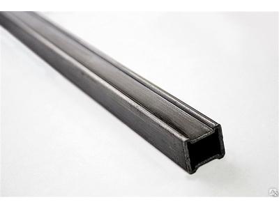 Труба 25х25х1,5 мм продавленная с двух сторон